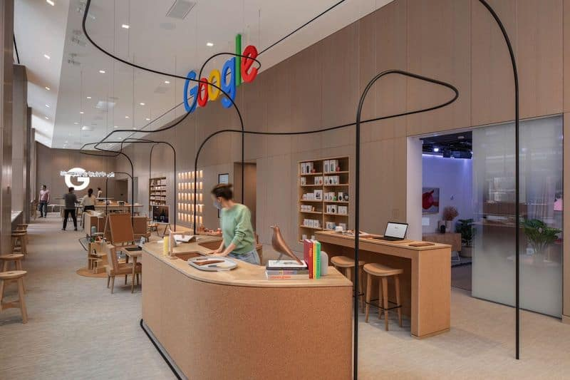 Check Out Google's First-Ever Retail Store