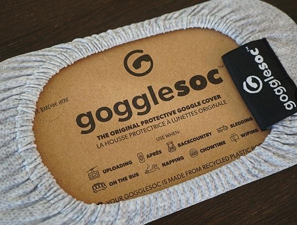 Gogglesoc Print Pattern Rear