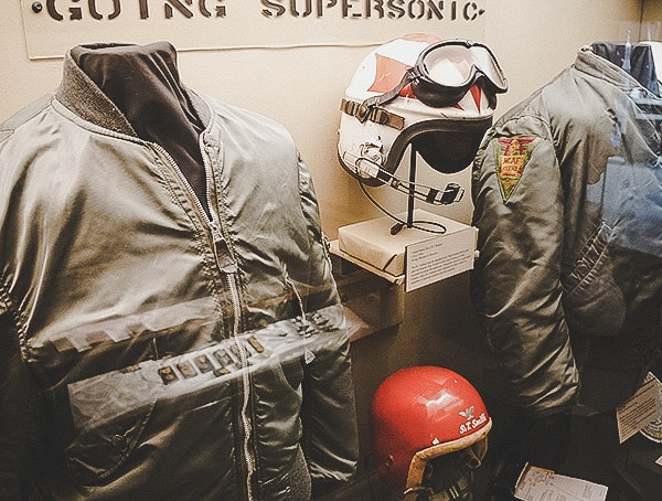 Going Supersonic Wings Over The Rockies Museum Military Helmet And Jackets