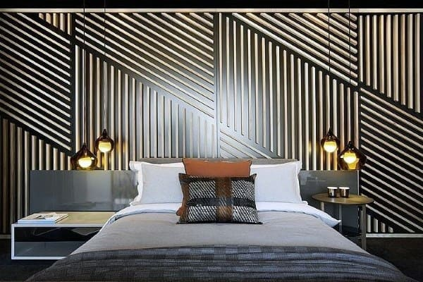 Gold And Black Bedroom Headboard Ideas