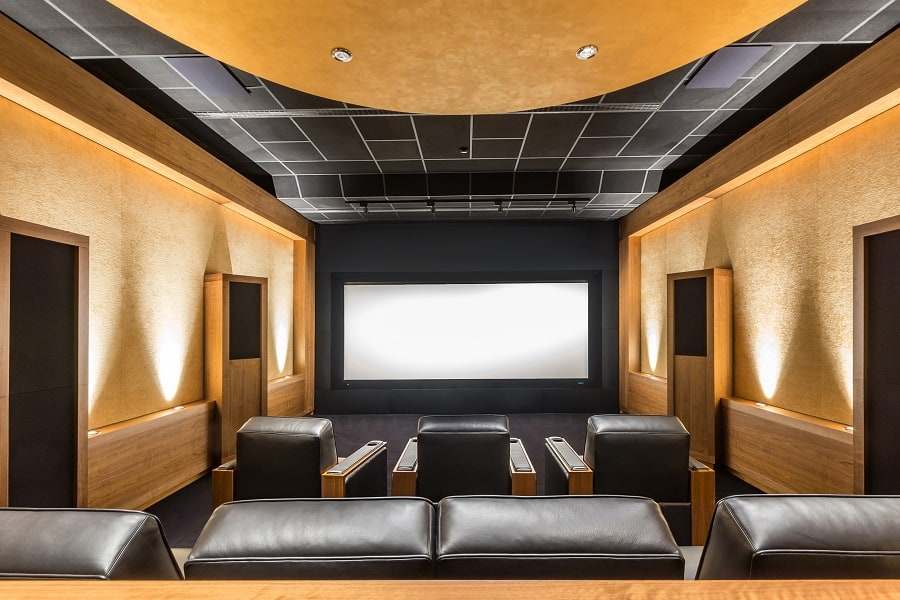 Idea Inspiration Home Theater Seating Designs