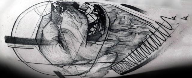 40 Golden Retriever Tattoo Designs For Men – Dog Ink Ideas