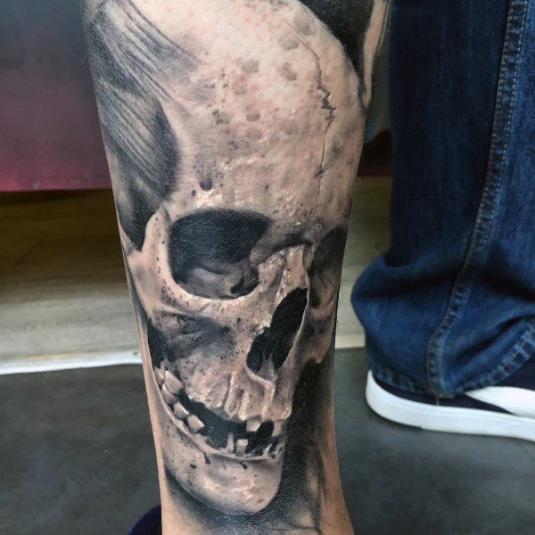 70 Anatomical Tattoos For Men - Bodily Structure Design Ideas