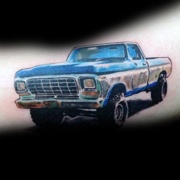 Good Ford Tattoo Designs For Men