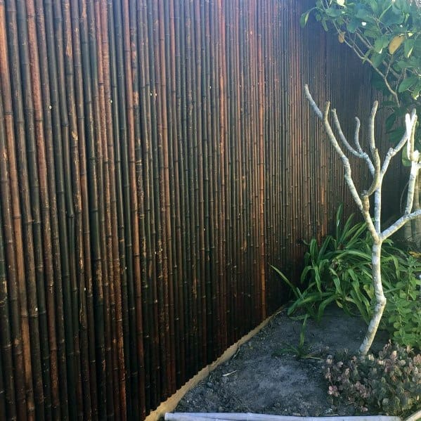 Good Ideas For Bamboo Fence