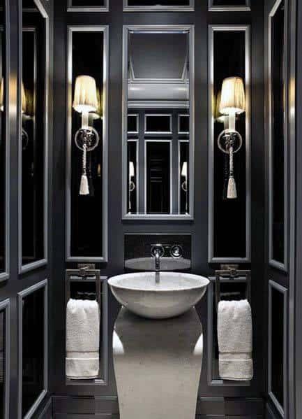 Good Ideas For Black Bathrooms