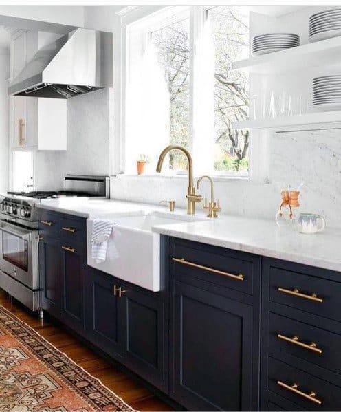 Good Ideas For Black Kitchen Cabinet