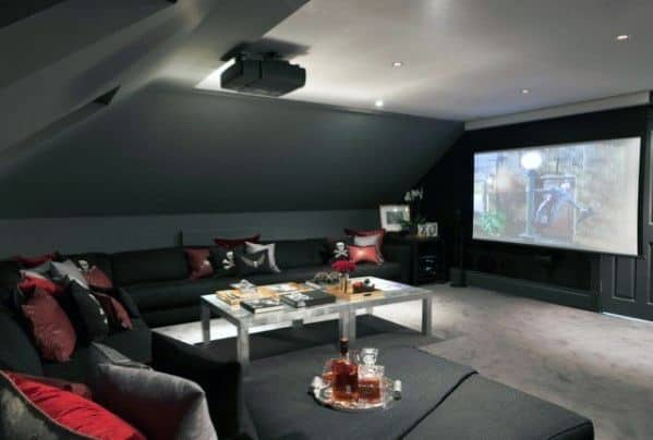 Good Ideas For Bonus Room Home Theater
