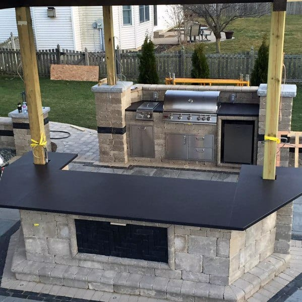 Good Ideas For Built In Grill