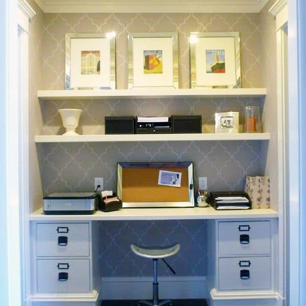 Good Ideas For Closet Office