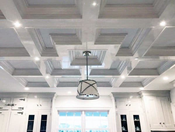 Good Ideas For Coffered Ceilings For Kitchen