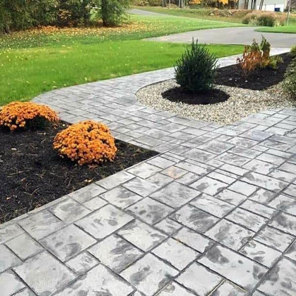 Good Ideas For Concrete Walkway