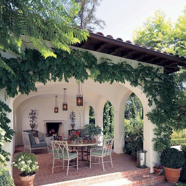 Top 50 Best Brick Patio Ideas - Home Backyard Designs on Small Brick Patio Ideas id=30891