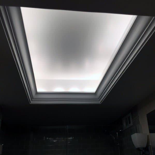 Good Ideas For Crown Molding Lighting White Leds