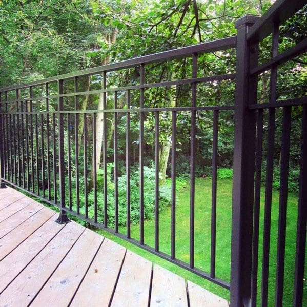 Good Ideas For Deck Railing
