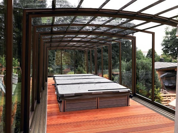 Good Ideas For Deck Roof Gl And Steel Windows