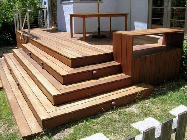 Good Ideas For Deck Steps
