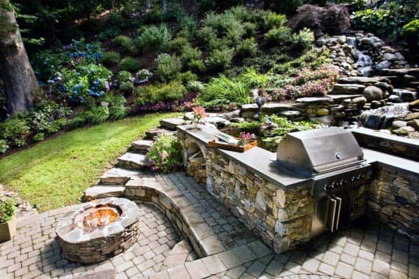Good Ideas For Fire Pit And Bbq Grill Landscaping
