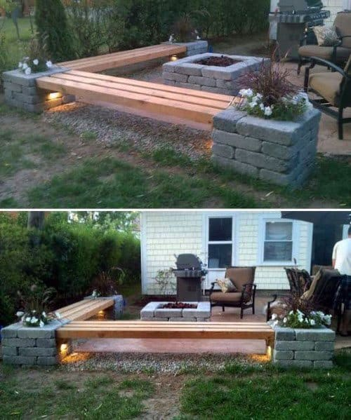 Good Ideas For Fire Pit Seating