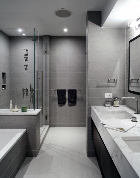 Good Ideas For Grey Bathrooms