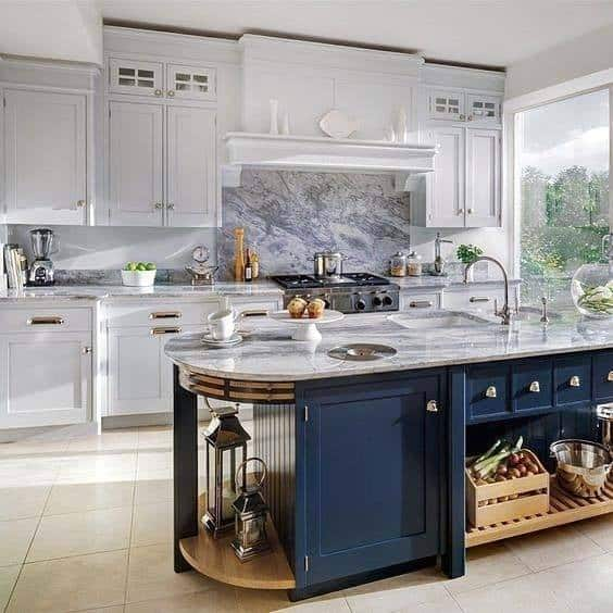 Top 50 Best Kitchen Floor Tile Ideas
