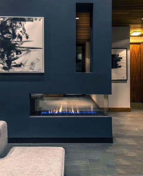 Good Ideas For Linear Fireplace