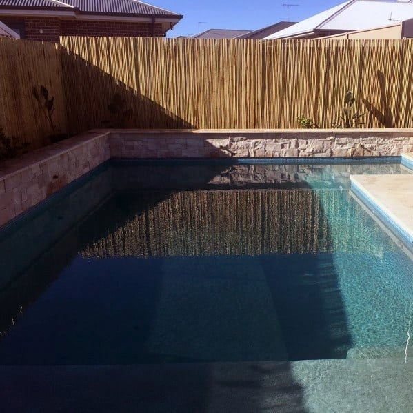 Good Ideas For Pool Fence Bamboo