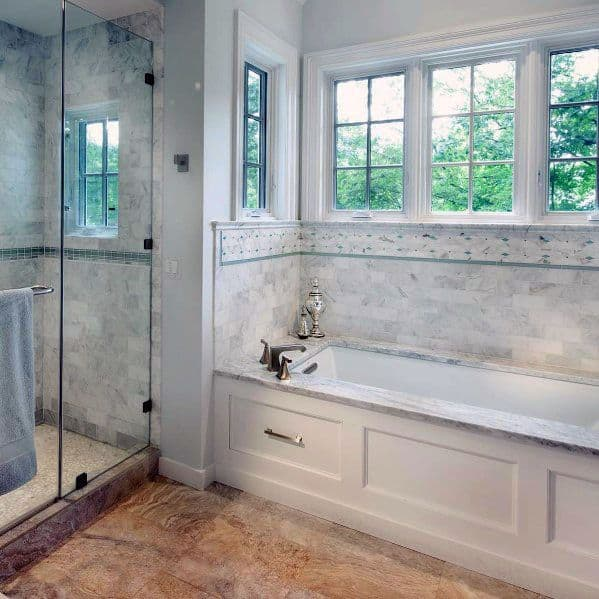Top 70 Best Shower Window Ideas Bathroom Natural Light