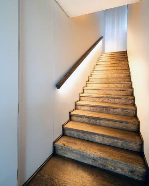 Good Ideas For Staircase Railing Lighting