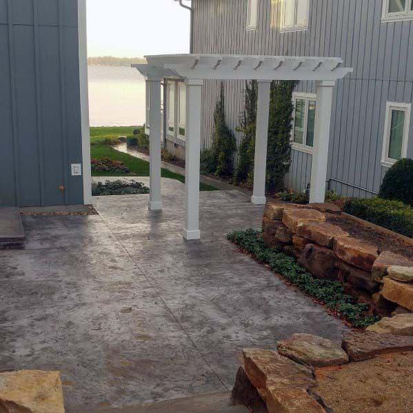 Good Ideas For Stamped Concrete Patio
