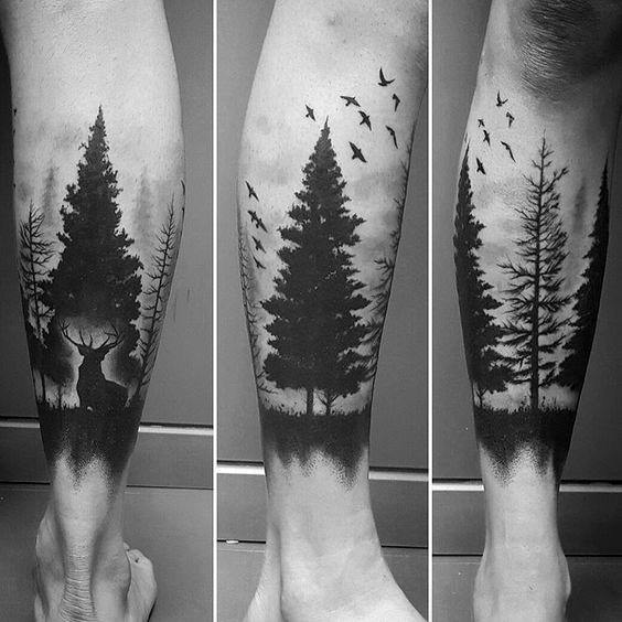 40 Tree Leg Tattoo Design Ideas For Men Rooted Ink