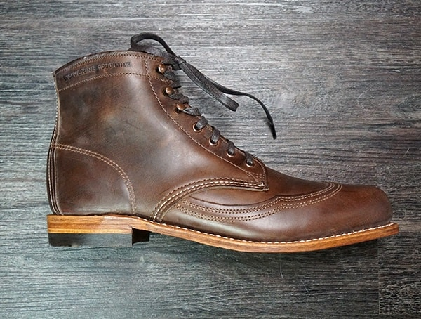 Goodyear Welt Construction Wolverine Addison 1000 Mile Boots Review