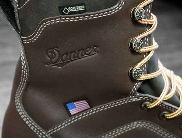 Gore Tex Danner Quarry Brown Alloy Toe Wedge Boots Review