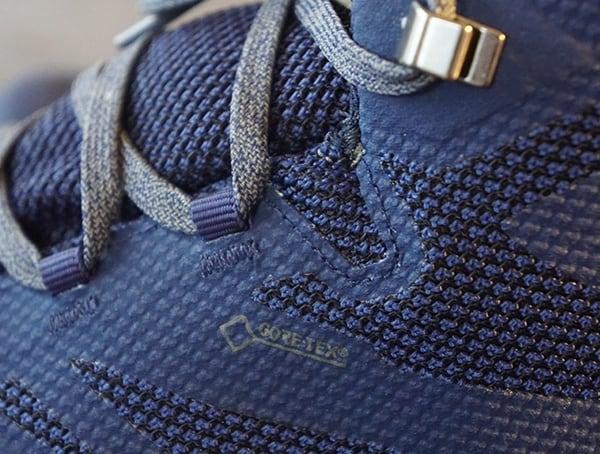 Gore Tex Detail Salomon Outline Mid Gtx Mens Shoes Side