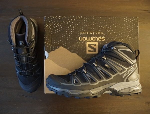 Gore Tex Salomon X Ultra Mid 2 Spikes Mens Shoes For Hiking