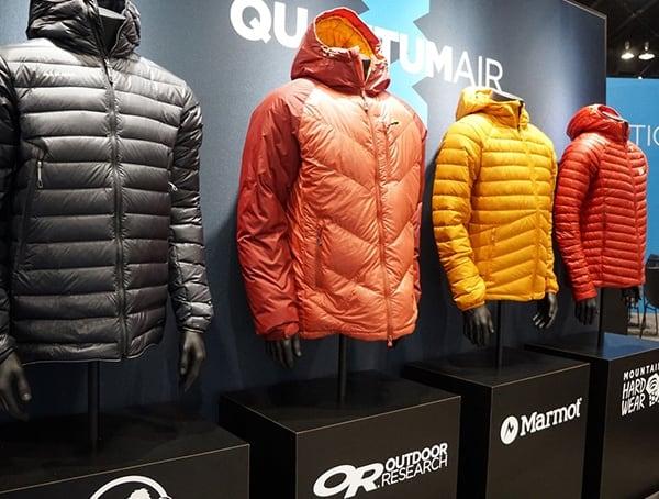 Goretex Jackets From Different Brands Outdoor Retailer Winter Market 2018