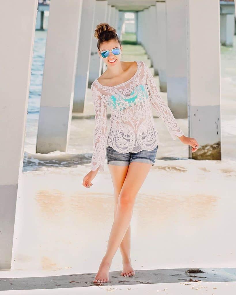 Superbe tenue de plage