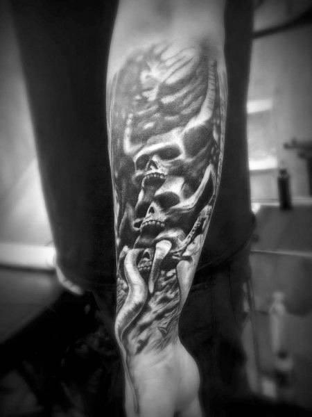 Gothic Guys Tattoo Designs