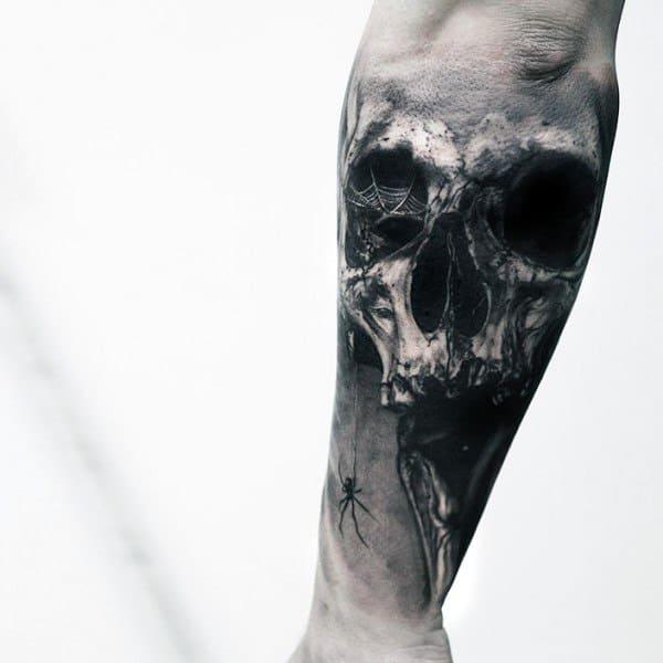 Gothic Tattoo Designs On Men