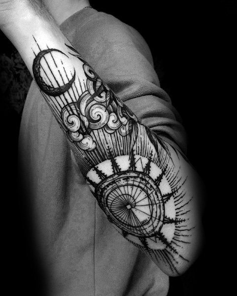 Gothic Themed Tattoo Ideas For Men
