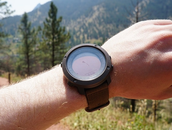 Gps Watch Suunto Traverse Alpha Review Outdoor Hiking Trail Navigation Location Map