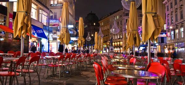 Graben Street Vienna City Austria