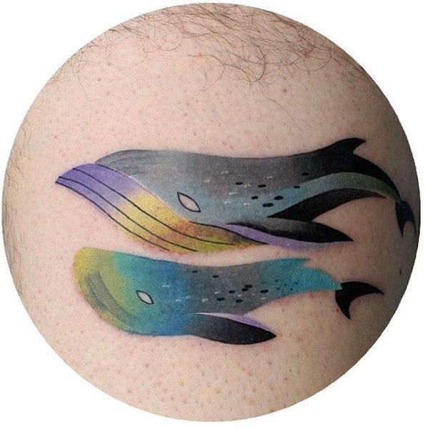 Gradient Guys Tattoo Designs