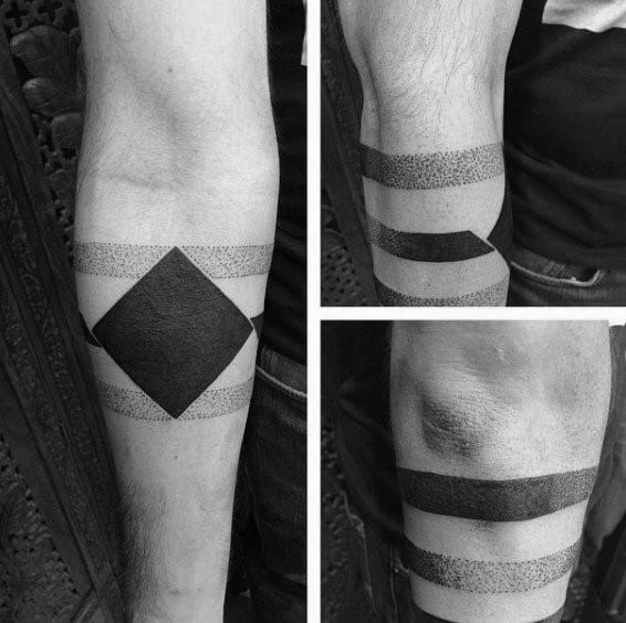 Gradient Guys Tattoos