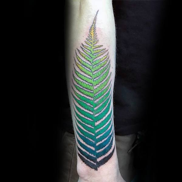 Gradient Tattoo Ideas On Guys