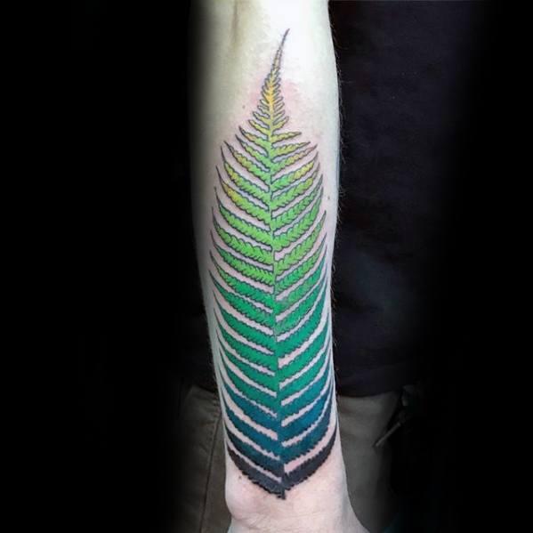 Gradient Tattoo Ideas On Guys