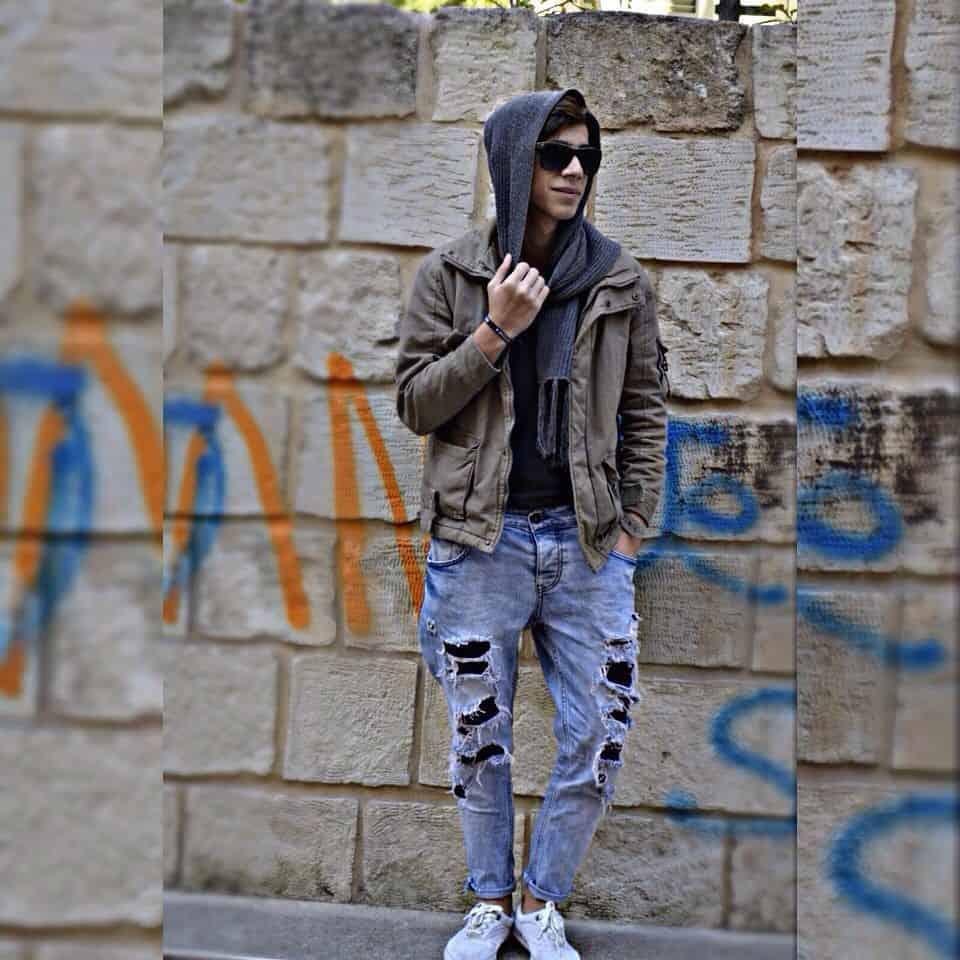 Graffiti Man Grunge Outfit