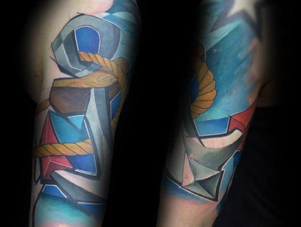 Graffiti Styles Of Tattooing