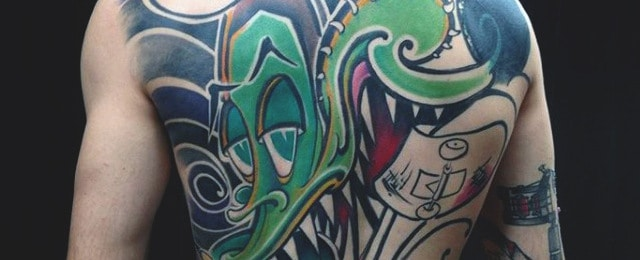 Graffiti Tattoos For Men