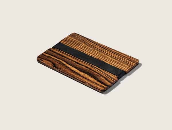 Grainstak Bocote Mens Wood Wallet